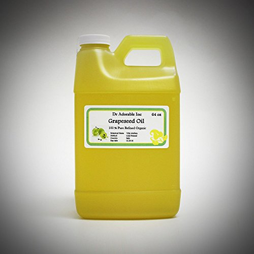 64 Oz / 2 Quarters Organic Grapeseed Oil