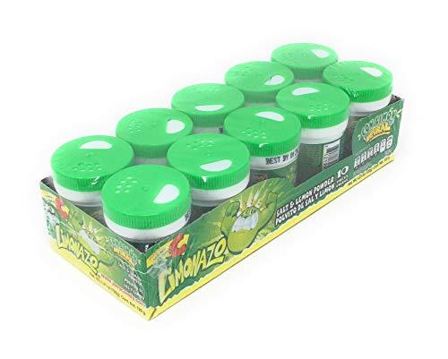 Jovy Limonazo Mexican Candy Salt & Lemon Powder 4.23oz (12 pack)