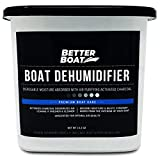 Boat Dehumidifier Moisture Absorber and Charcoal Smell Remove Damp Musty Smell | Basement Closet Home RV or Boating