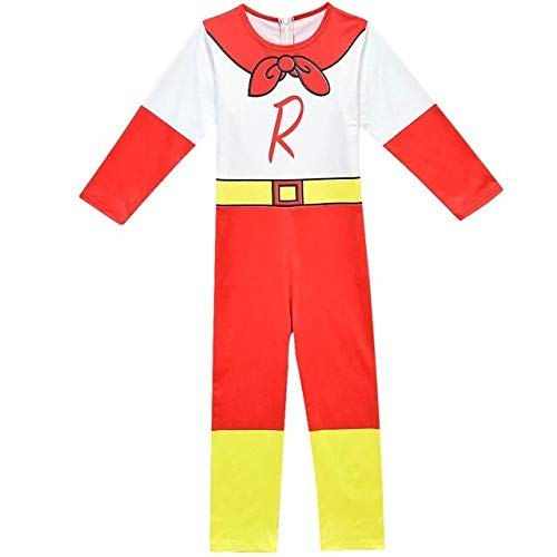 only Costume 6 Ryan Toys Review Mask Boys Romper Superman Boys Long Sleeve with Smock Halloween Performance Clothing Harry Mask Costumes 4-10Y