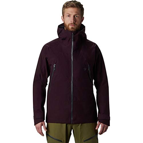 Mountain Hardwear Men's Boundary Ridge Gore-Tex 3L Jacket | Winter Hardshell Waterproof Jacket for Skiing and Snowboarding - Darkest Dawn - Large