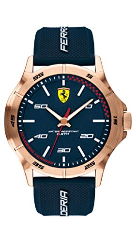 Scuderia Ferrari Analog Blue Dial Men's Watch - 0830671