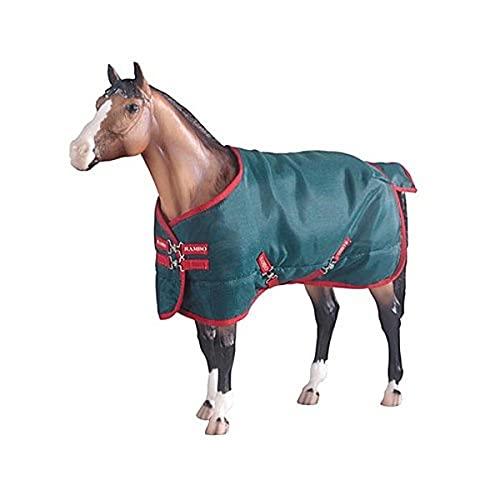 Breyer Rambo Blanket, Green/red
