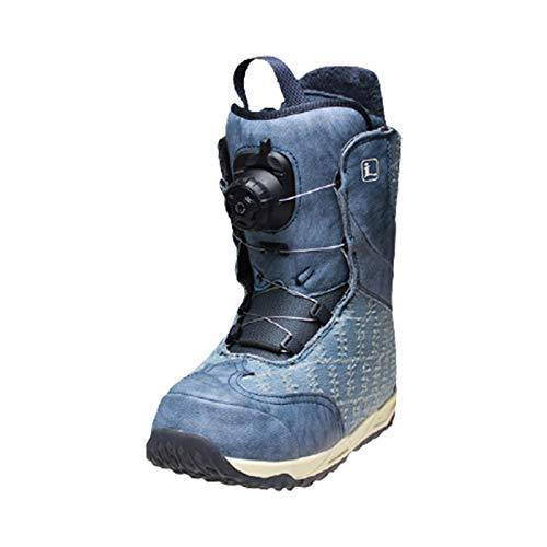 XZZ Damen Snowboardstiefel, High-End-Skischuhe, Knopfverstellung, Warm Und Bequem, Skiausrüstung, 35-38