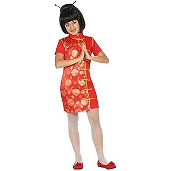 Atosa-22310 Disfraz China, color rojo, 10 a 12 años (22310 ...