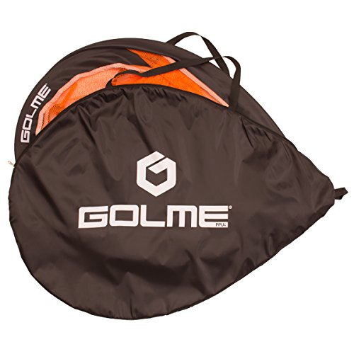 GOLME PRO Pop Up Soccer Goal - Two Portable Soccer Nets with Carry Bag - Sizes 2.5', 4' and 6'