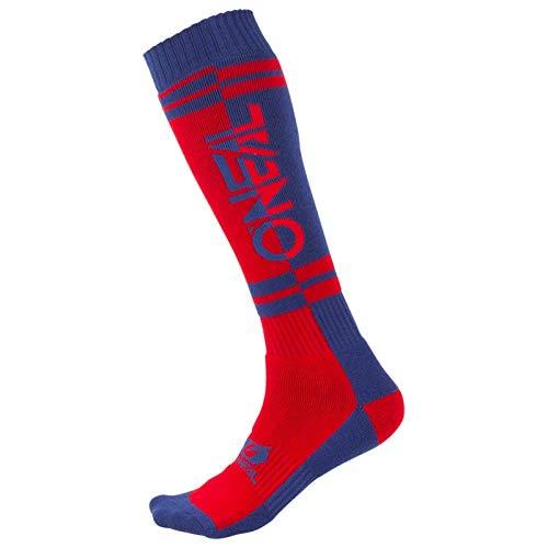 O'NEAL Pro Twoface MX Socken rot/blau Einheitsgröße 2020 Oneal