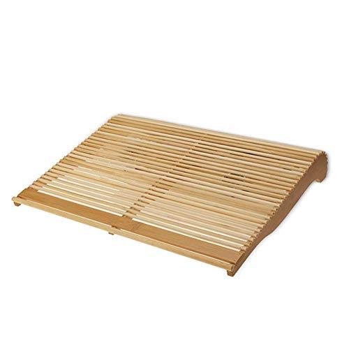 ZUIZUI Refrigerador portátil de madera de bambú portátil radiador base de escape de 17 pulgadas radiador de computadora LED ventilador base radiador radiador