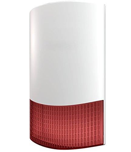 LGtron LG-HC105FP Funk Außensirene für LGtron LGD8001 und LGD8003P oder als universale verdrahtete Außensirene für alle Alarmanlagen