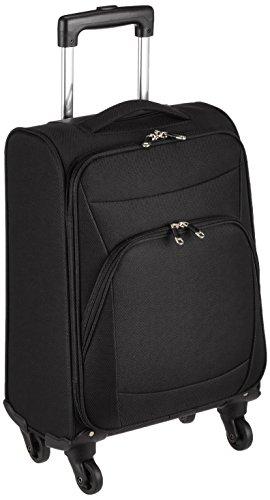 [ジェットエージ] スーツケース ソフトキャリー S 軽量 機内持ち込み可 23L 55 cm 2.1kg ブラック