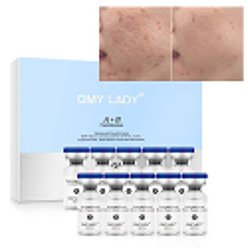 EGF Skin Rejuvenation Serum & Epidermal Growth Factor Powder Kit, Moisturizing Removing Wrinkles, Fine Lines and Pigmentation, Acne Scars Treatment Facial Repairing Serum
