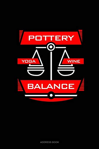 Pottery Yoga Wine Balance: Address Book: 260