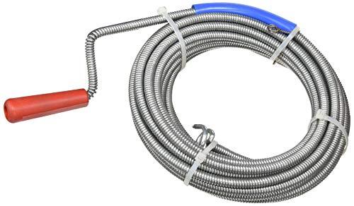 Waterful COX260100 Sturatubi/Sturalavandini a Spirale, 10 Metri, Diametro 9 mm, Acciaio