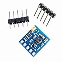 GY-271 HMC5883L 3V-5V Arduino IICボード用3 3トリプル軸磁場コンパス磁力計センサーモジュール