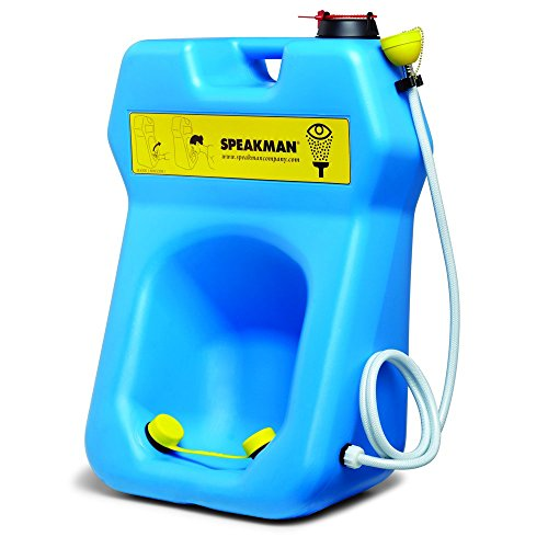 Speakman GravityFlo SE-4300 Portable Eyewash with Drench Hose, 20-Gallon