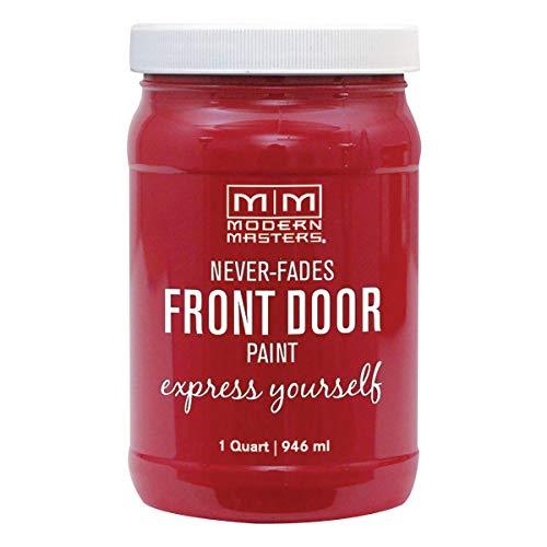 Modern Masters 275260 Front Door Paint, 1 Quart, Satin Ambitious