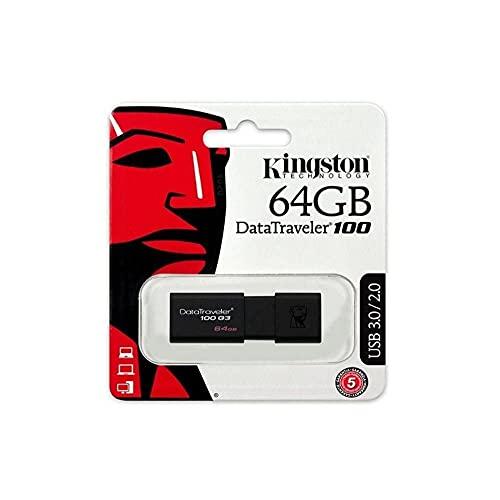 Kingston Digital 32GB Data Traveler 3.0 USB Flash Drive - Red (DTIG4/32GB )