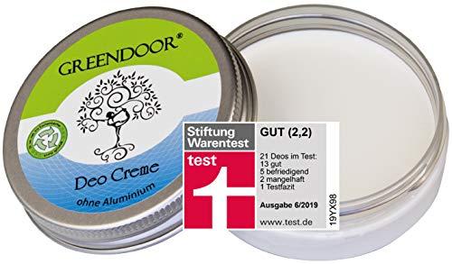 Greendoor Desodorante Crema 50ml - sin sales de aluminio