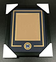 NOTRE DAME FIGHTING IRISH Medallion Frame Kit 8x10 Photo Double Mat VERTICAL