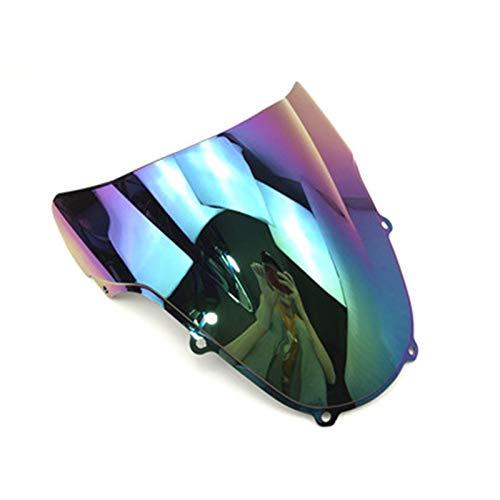 Parabrisas de Motocicletas para S&uzuki GSXR GSX-R GSX R 1000600750 K1 K2 2000 2001 2002 2003 Motocicletas PC Parabrisas Parabrisas Deflector de Viento (Color : G)