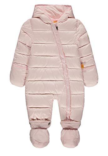 Steiff Baby-Mädchen Schneeoverall Schneeanzug, Rosa (Barely Pink|Rose 2560), 86