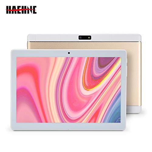 """bon comparatif Haehne Tablet écran tactile 10,1 """", smartphone 3G, tablette PC quad core Android 8.1 Google, 2 Go de RAM… un avis de 2021"""