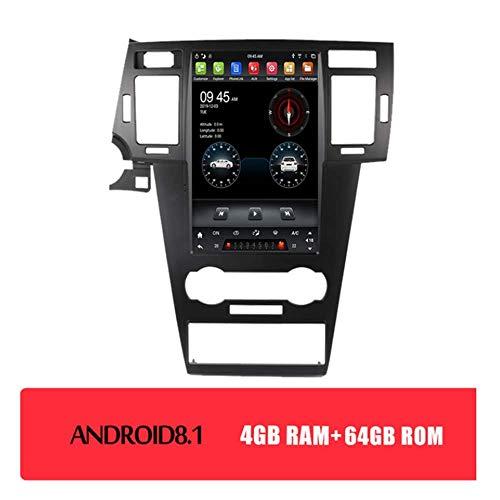 LFEWOZ Autoradio-Empfänger Autoradio 2 DIN Auto Stereo Bluetooth Android GPS Navigation - Anwendbar für Chevrolet König Cheng 2008-2012 Dash Head Unit mit 12,1-Zoll-Touchscreen