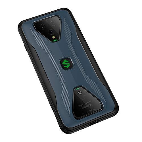 NOKOER Hülle für Xiaomi Black Shark 3/3S, 2 in 1 PC + TPU Doppelschicht Hülle Cover, Staubdicht Anti-Fall Handyhülle [Ultra Slim] [rutschfest] [Shock Absorption] - Dunkelblau