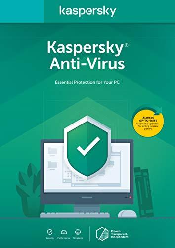 Kaspersky Anti-Virus 2020 | 3 Geräte | 1 Jahr | Box | Installierbar in allen europäischen Sprachen|Standard|3 Geräte|1 Jahr|PC|Download|Download