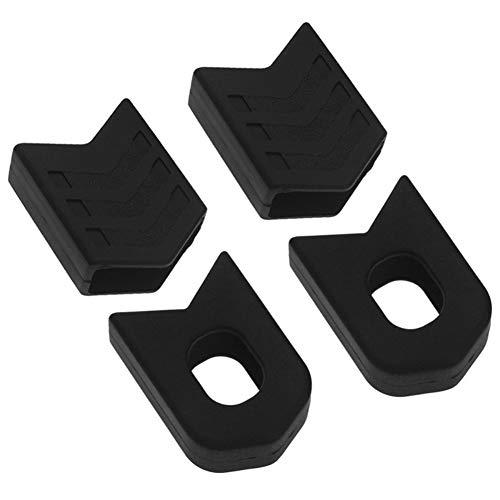 Leezo MTB - Tapas Protectoras para bielas de Bicicleta (4 Unidades)
