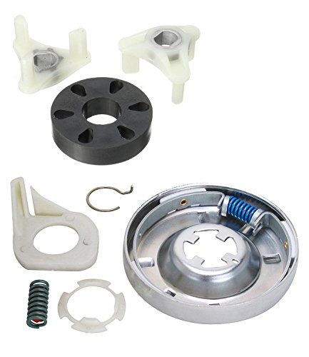 Siwdoy 285785 Washer Clutch Kit and 285753A Motor Coupling Kit Compatible with Whirlpool Washer 285331, 3351342, 3946794, 3951311, AP3094537