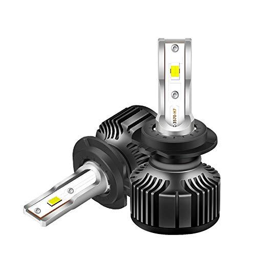 DOOK H1 H3 LED Bulbo de la Linterna de Alta Potencia 45W 4800LM Extremadamente Brillante Blanca 6000K Kit de conversión, con IP68 a Prueba de Agua