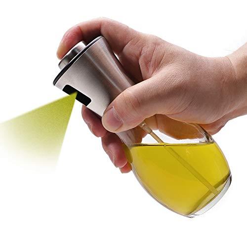 PICKME Olivenöl Sprayer Dispenser Für Grill- / Kochen/Essig Glasflasche Mit Leak-Proof, Spice Drops Glas Gewürz Küchenhelfer