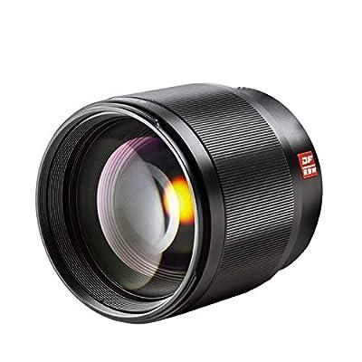 VILTROX 85mm F1.8 Mark II Auto Focus Lens Portrait Fixed Large Aperture Full Frame Lens for Fuji X-Mount Camera X-T1 X-T2 X-T10 X-T20 X-A1 X-A2 X-A3 X-A5 X-A10 X-A20 X-E1 X-E2 X-E3 X-H1 X-PRO1 X-PRO2 by VILTROX