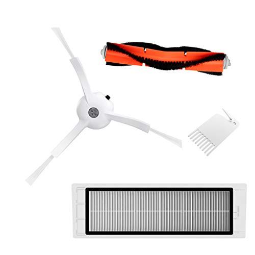 Milageto - Recambios para filtro de aspiradora principal Xiaomi Robot aspirador