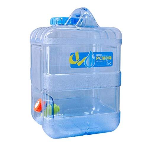 Tubayia 15L portátil Wasserbehälter Wasserkanister Wasserträger para Camping Picknick BBQ