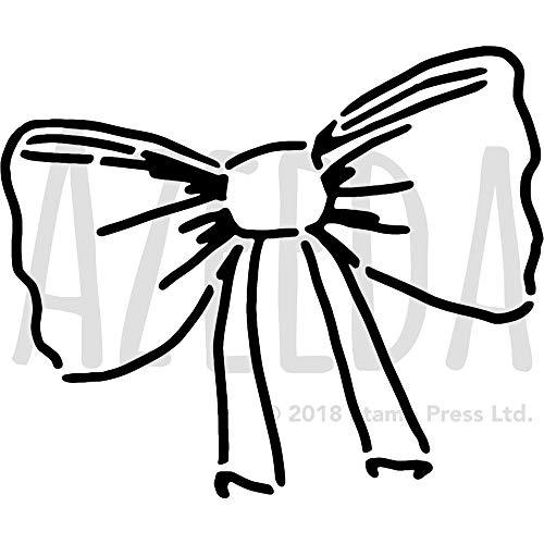 Azeeda Groß A2 'Krawatte' Wandschablone / Vorlage (WS00036109)