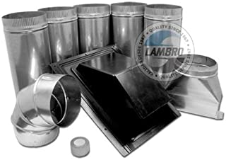 Lambro Ind. 378 Range Hood Roof Vent Kit by Lambro