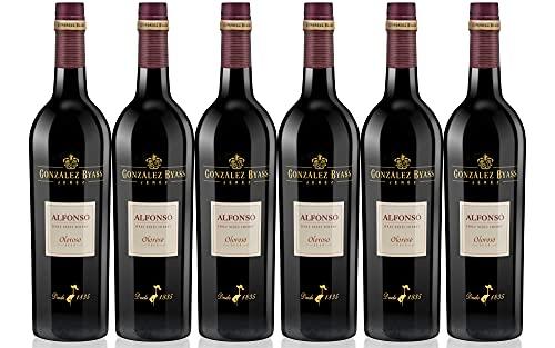 Alfonso Oloroso Seco - Vino D.O. Jerez - 6 Botellas de 750 ml - Total: 4500 ml