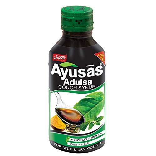 Sapat Ayusas Adulsa Syrup 100ML* 2