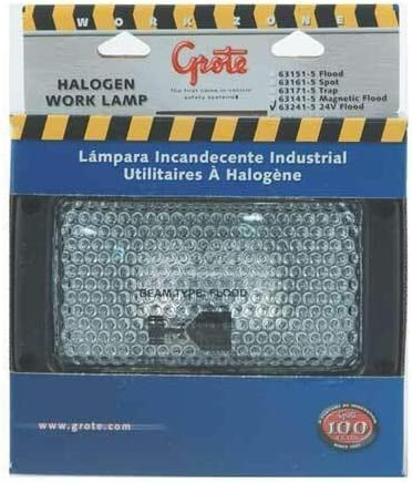Rectangular Halogen Very popular Work Lamp 24V safety