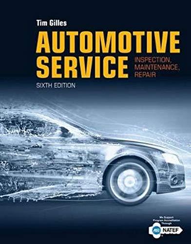 Automotive Service: Inspection, ...