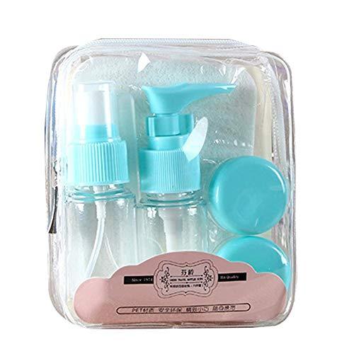 Dreameryoly Flaschen Make-up Container-6Pcs / Set Reise Mini Kunststoff Transparent Leere Bilden Behälter Flasche Kit