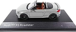 OPO 10 - Auto 1/43 iScale Compatibel met Audi TT RS Roadster grijs (10531)