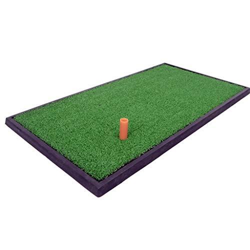 Academy Golf Übungsmatte Golf Zubehör Launch Pad Mat Golf Simulator Trainingsgerät Pad Golf Abschlagmatte Grün 33 * 63cm für Private Übungen, Hitting-Matte