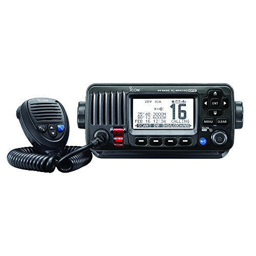 ICOM M424G 21 Fixed Mount VHF Radio with Internal GPS