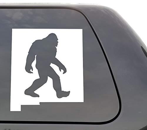 DKISEE Bigfoot New Mexico - Vinyl Sticker - Bigfoot NM Laptop Vinyl Decal Window Muursticker Auto Sticker 6 inch Onecolor
