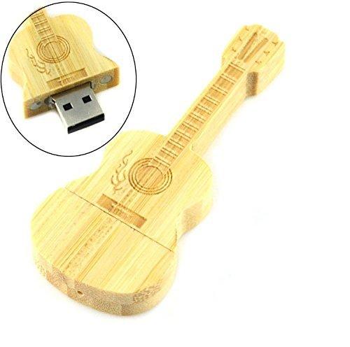 Shooo 8GB Acoustic Guitarra Memoria USB Tarjeta de memoria