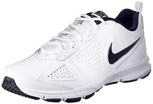 Nike T-Lite Xi Herren Laufschuhe 616544 Sneaker, (Weiß/Obsidian/Schwarz/Metallic-Silber.), 44 EU