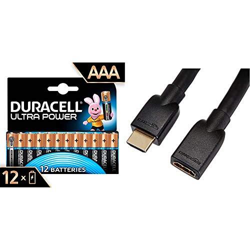 Duracell Ultra AA con Powercheck, Batterie Stilo Alcaline, Confezione da 12 ad Apertura Semplificata, 1.5 volt LR06 MX1500 (il Design della Confezione Potrebbe Variare)
